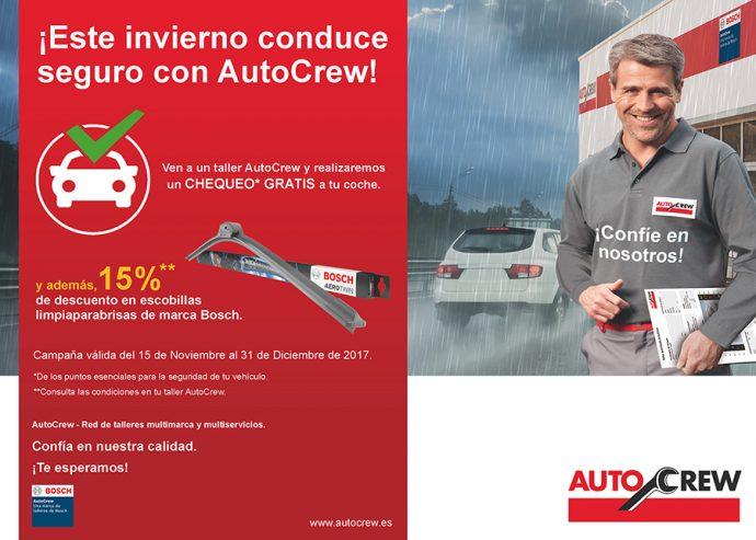 Comprobaciones gratuitas red de talleres AutoCrew