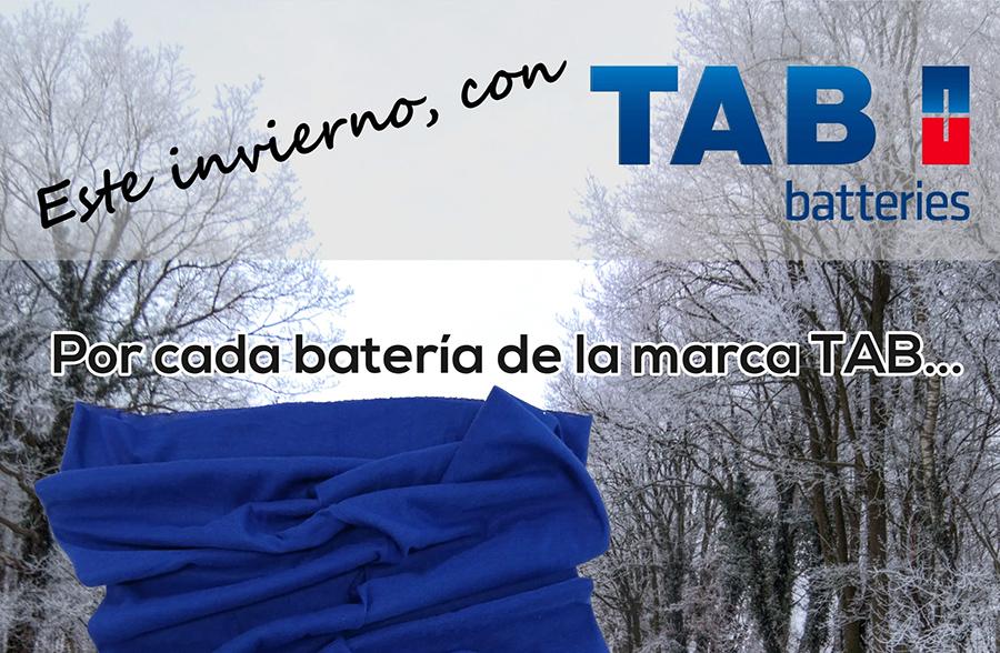 5b8997c9bf TAB Spain regala una braga de cuello en su campaña de invierno