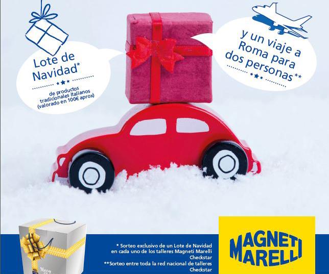 magneti marelli Roma campaña navidad