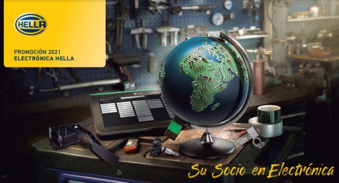 campaña productos de electrónica HELLA 2021