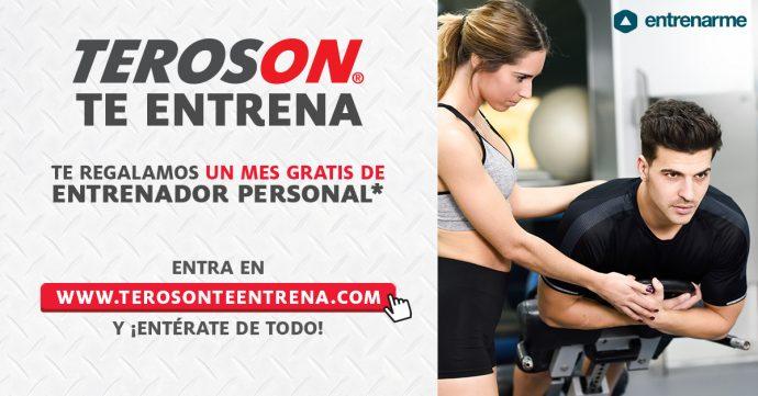 campaña TEROSON Te Entrena