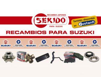 Estanfi presenta la última actualización de su Catálogo Sekido para Suzuki