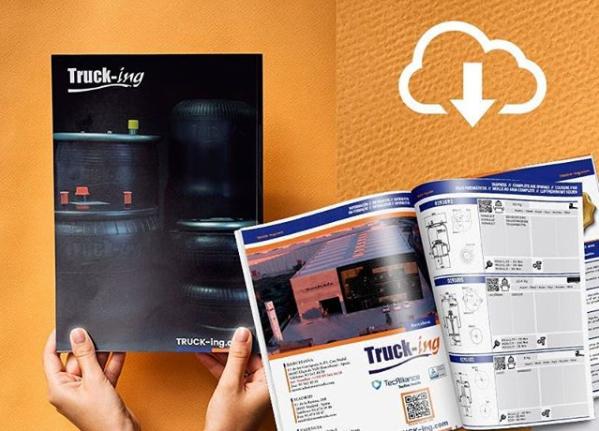 catálogo Truck-ing 2020 de suspensión neumática para vehículos comerciales