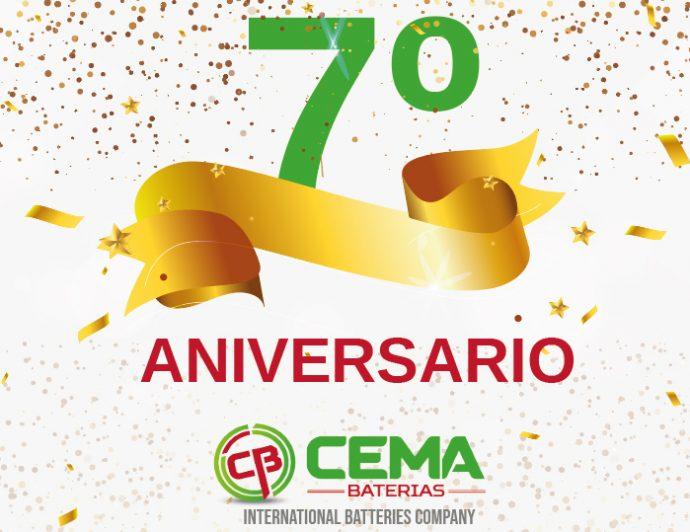 CEMA Baterías renueva imagen corporativa en su séptimo aniversario