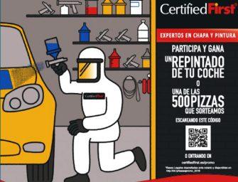 CertifiedFirst se alía con Telepizza en su nueva campaña