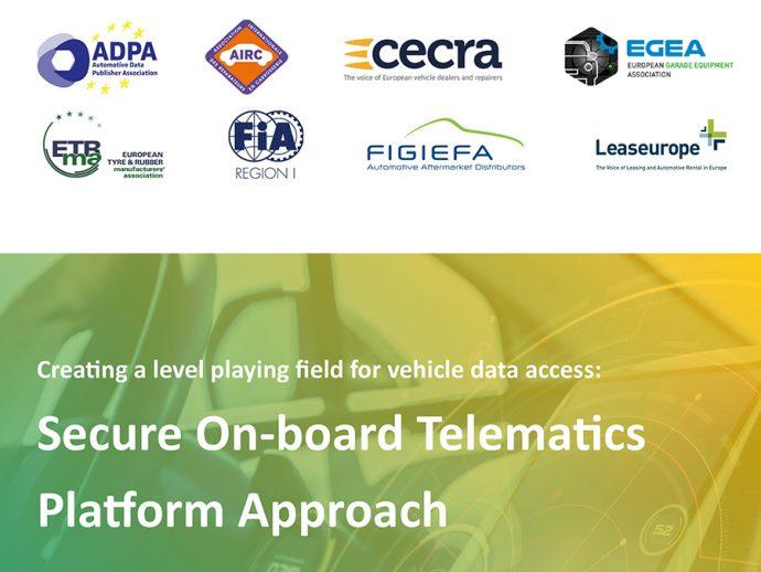 CETRAA apoya regulación de una plataforma telemática segura de acceso a los datos del vehículo (S-OTP)