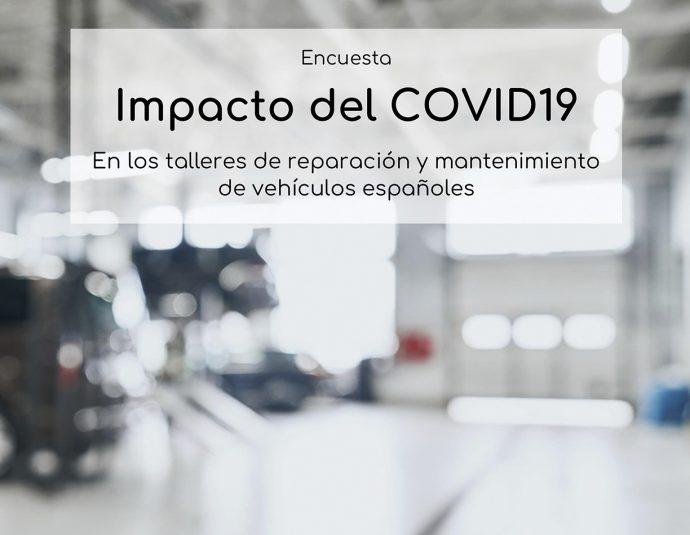 CETRAA y CONEPA encuesta impacto del COVID-19 entre talleres de automoción