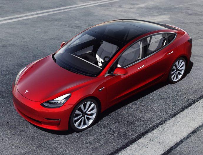 cifras del fabricante de coches Tesla 2019