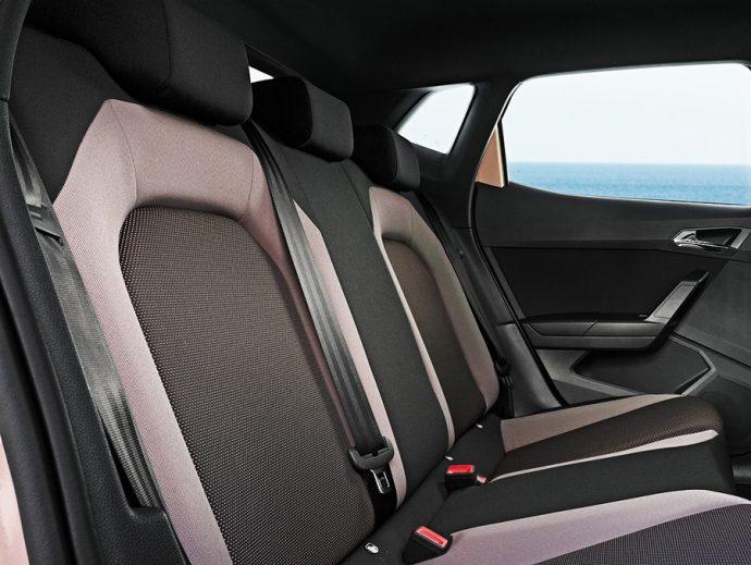 cinturones traseros seat y volkswagen