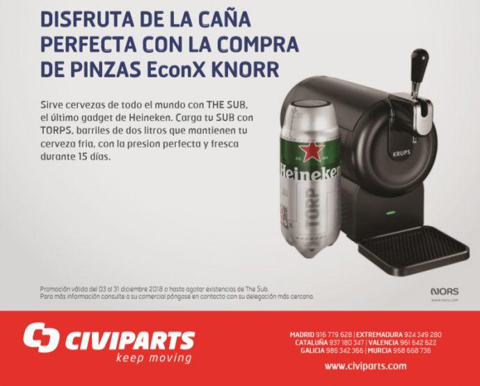 Civiparts campaña pinzas EconX Knorr