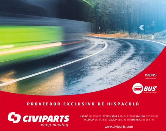 Civiparts distribuidor exclusivo Internacional Hispacold