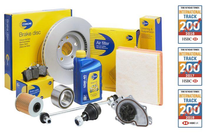 comline auto parts international track 200 700x450