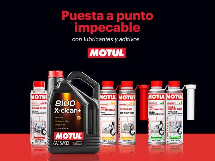 Con aditivos y lubricantes Motul, la mejor puesta a punto del vehículo