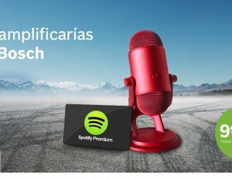 El aniversario del servofreno Bosch te trae altavoces y suscripciones a Spotify Premium