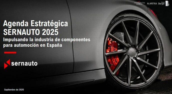 contenidos de la Agenda Estratégica Sernauto 2025