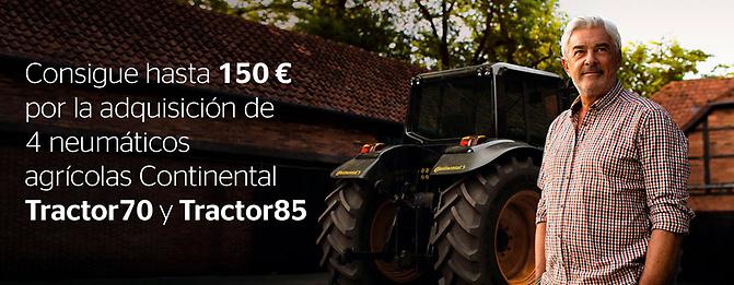 Continental promoción neumáticos agrícolas