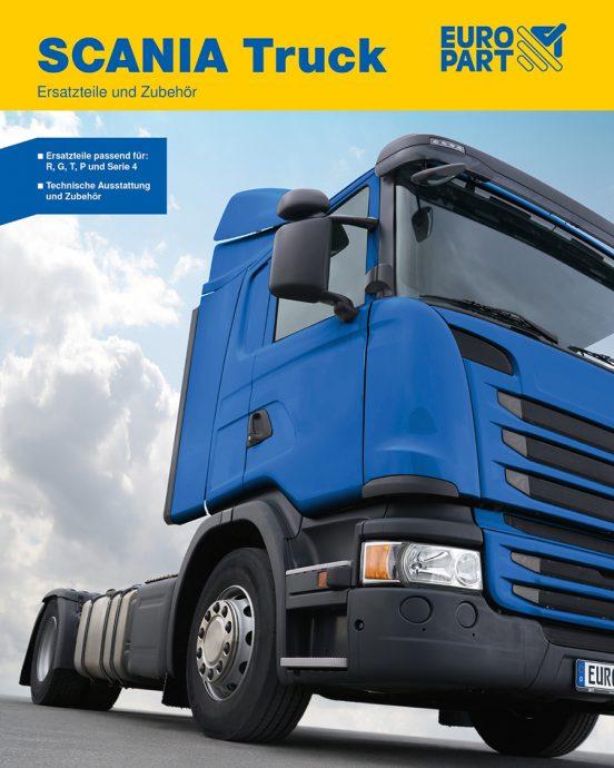 catalogo para camiones Scania de EUROPART