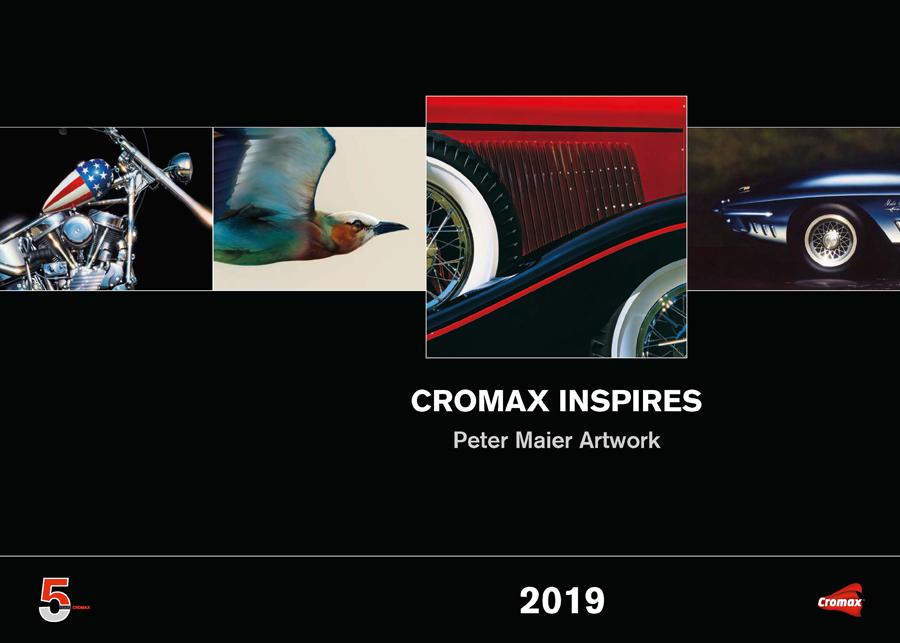 Cromax calendario 2019 INTERIOR