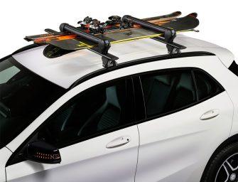 CRUZ lanza su nuevo portaesquís de techo Ski Rack Dark