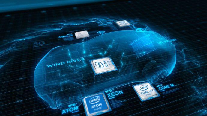 conducción autónoma Intel BMW