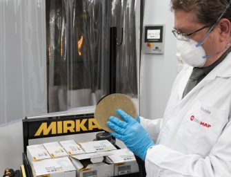 Nuevo disco OSP4 de Mirka: del papel a la malla