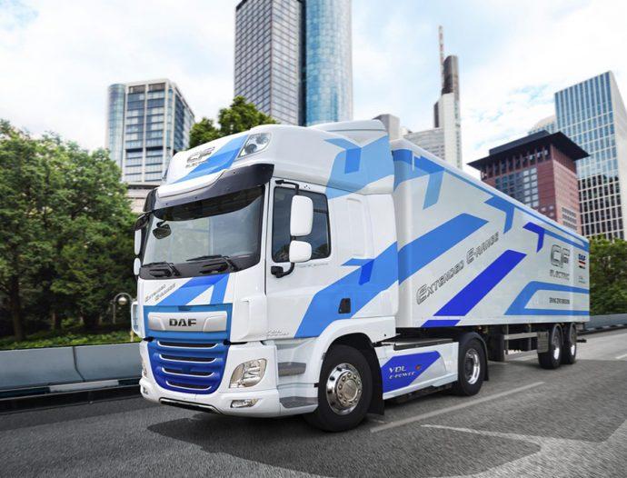 DAF duplica autonomía camión CF Electric