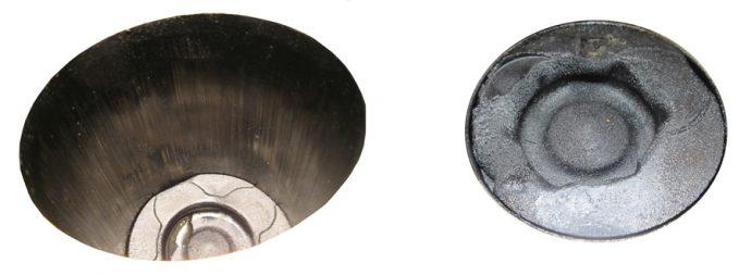 daños en cabeza pistón y paredes cilindro
