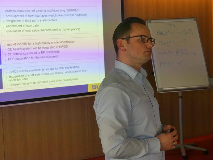 David Wuttke responsable de Marketing y E-Commerce EUROPART