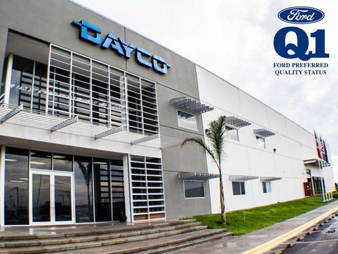 Dayco instalación en San Luis Potosí México obtiene Certificación Q1 de Ford