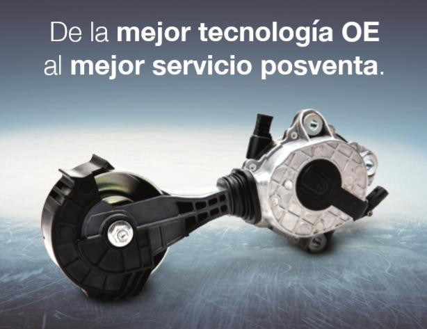 Dayco nuevas soluciones técnicas OE para aftermarket
