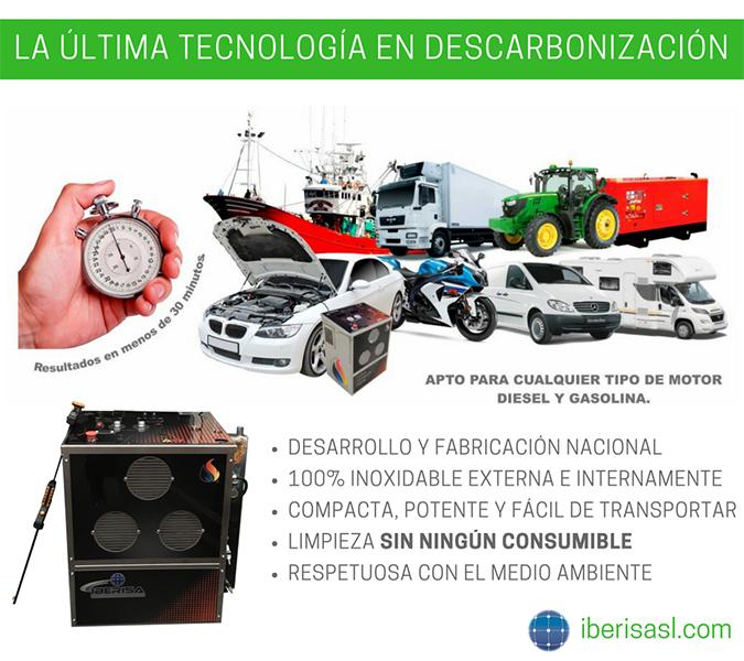 descarbonizadoras Iberisa