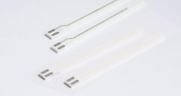 Detalle de un sensor de sonda lambda