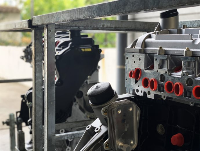 detalle motor Reconstruidos Mober