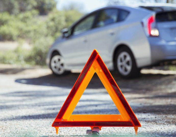 DGT prohibición triángulo de emergencia