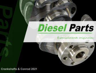 Diesel Parts presenta su nuevo catálogo de cigüeñales y bielas