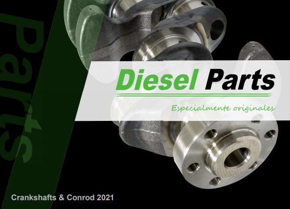 Diesel Parts catálogo cigüeñales y bielas 2021