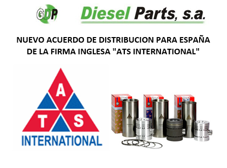 Diesel Parts nuevo distribuidor de ATS International