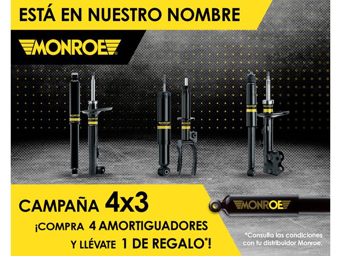 DRiV campaña promocional 4x3 amortiguadores Monroe 2021