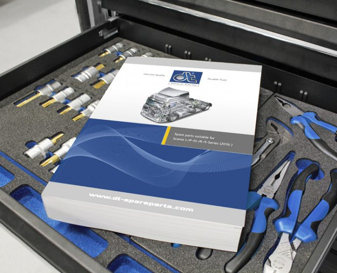 DT Spare Parts Catálogo Scania