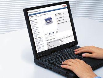 El catálogo online de Bosch mejora en diseño y prestaciones