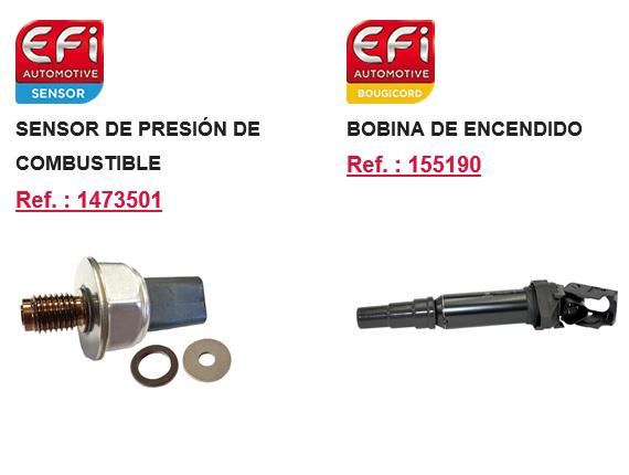 EFI Automotive nuevos recambios OE para aftermarket