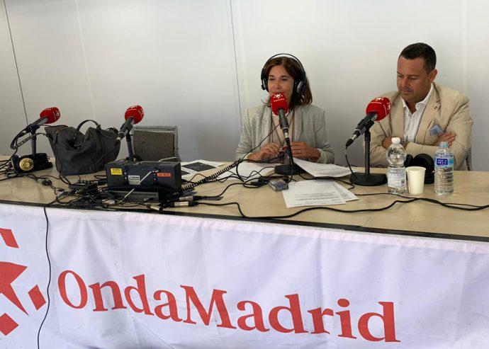 Ely del Valle y José Piñera en Onda Madrid