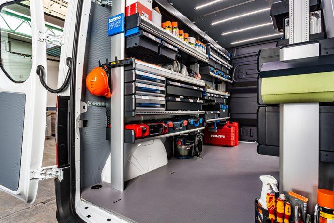 equipamiento para vehículos comerciales Portimo