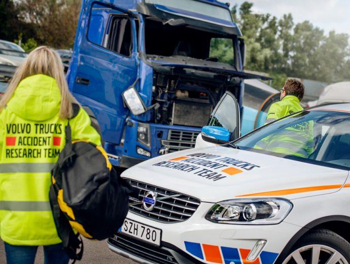 Equipo de Investigación de Accidentes de Volvo Trucks 50 aniversario