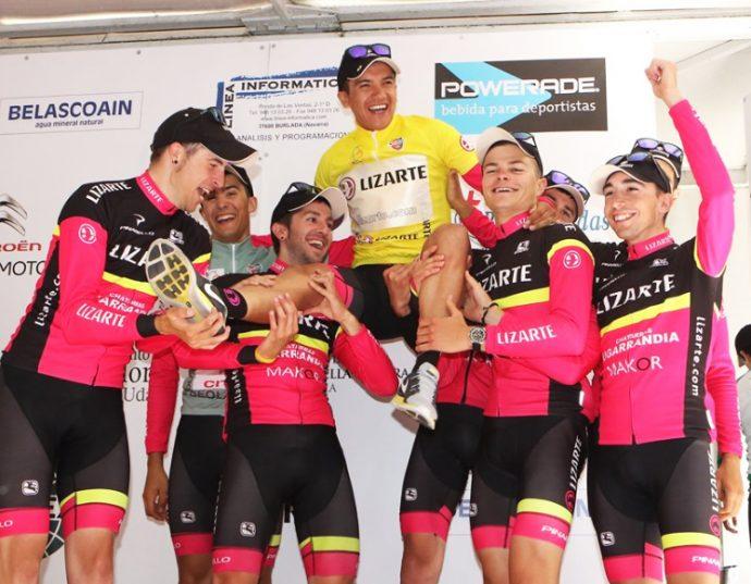 Equipo Lizarte pruebas ciclistas junio 2019
