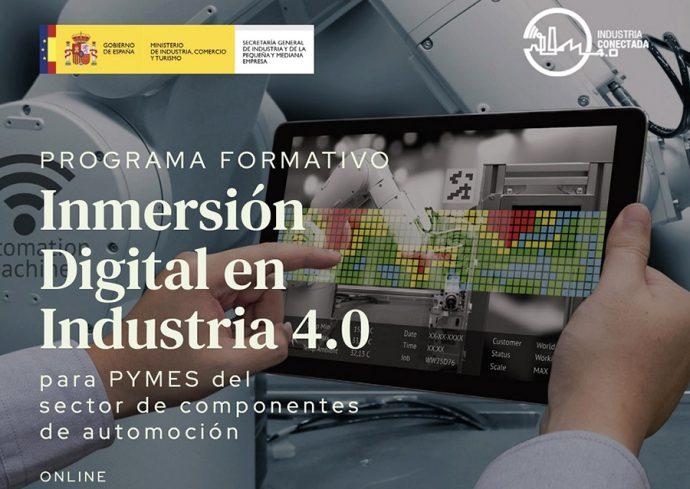 Escuela de Organización Industrial programa de inmersión digital para pymes sector componentes automoción