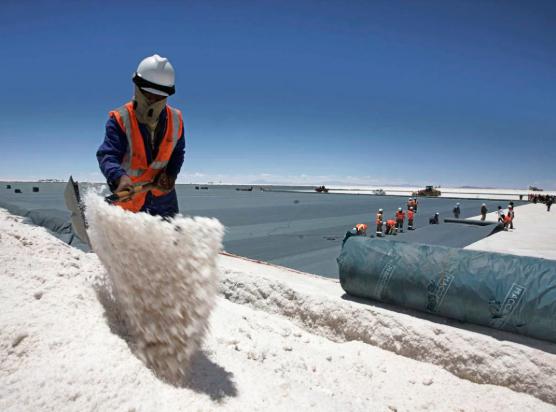 España referente extracción de litio para baterías eléctricas