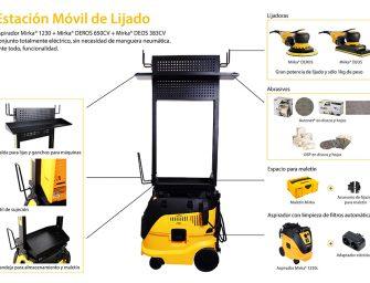 Estación Móvil de Lijado, la solución definitiva para el taller de chapa y pintura