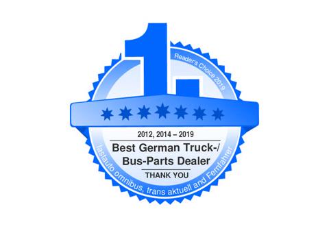 EUROPART mejor marca 2019 para recambios de camiones y autobuses