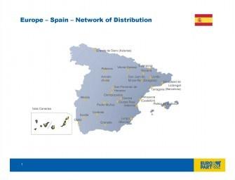 Continúa la expansión de la red Europart